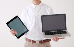 タブレットとパソコン