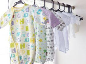 新生児用の衣類