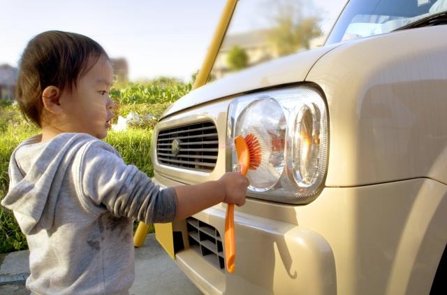 洗車のお手伝い